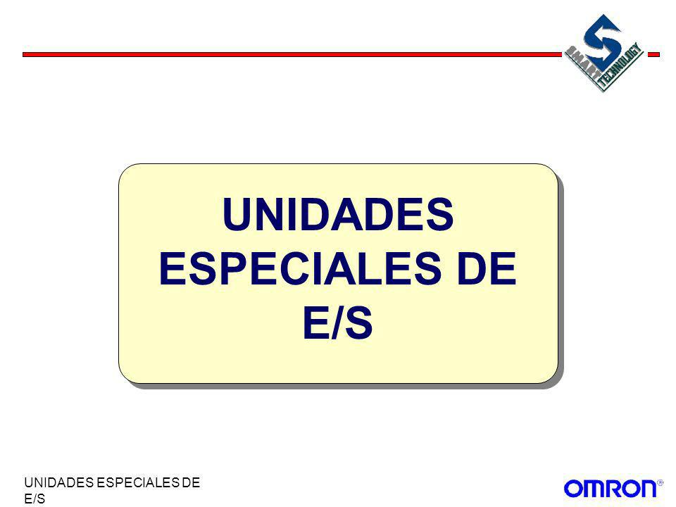 UNIDADES ESPECIALES DE E/S