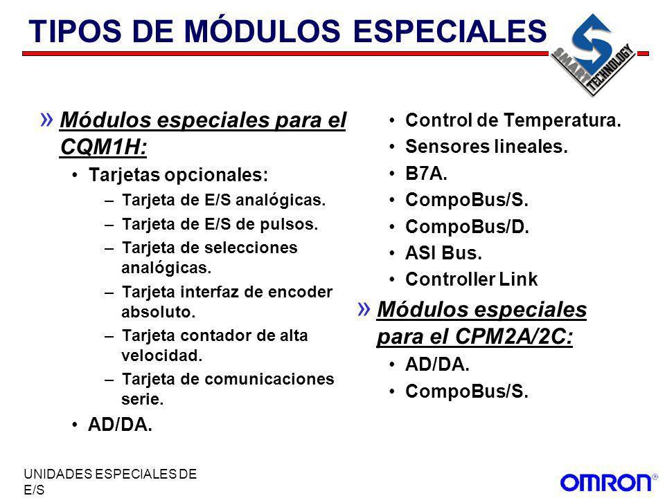 TIPOS DE MÓDULOS ESPECIALES