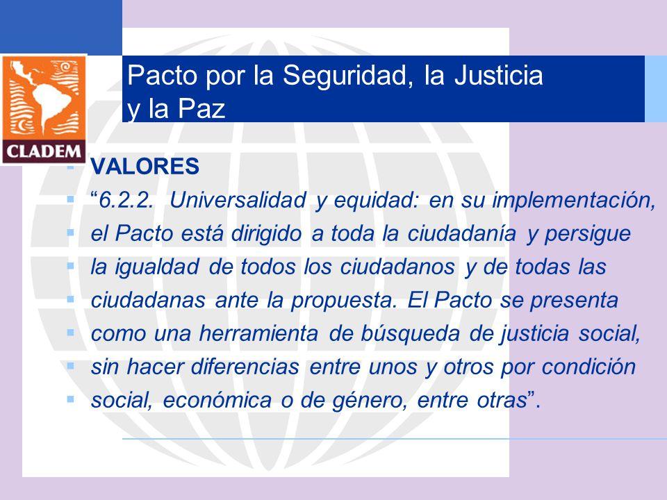 Pacto por la Seguridad, la Justicia y la Paz