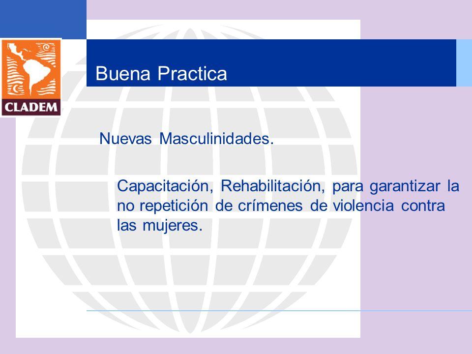 Buena Practica Nuevas Masculinidades.