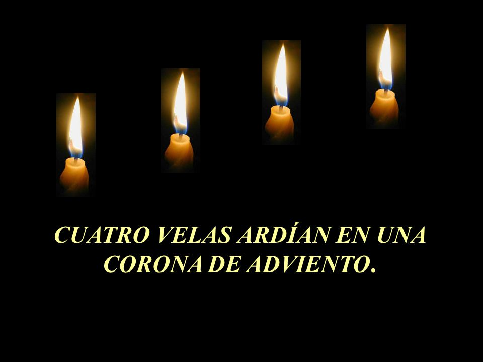 Cuatro velas ppt descargar - Velas adviento ...