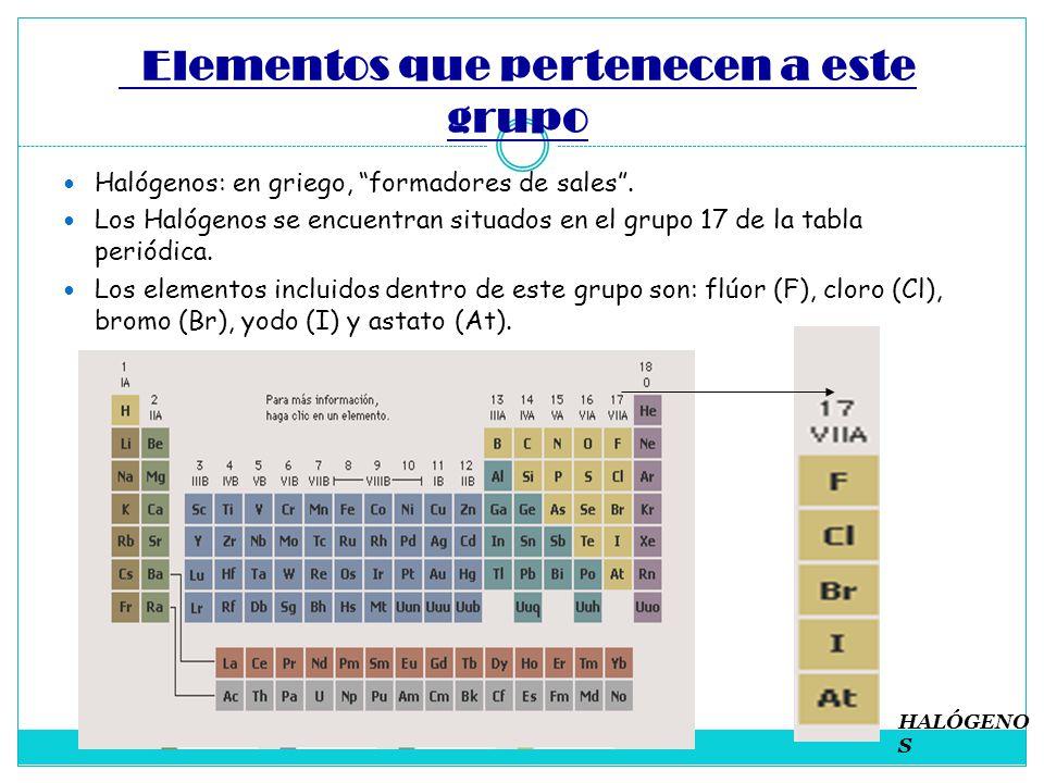 Los halgenos ppt descargar 2 elementos urtaz Choice Image