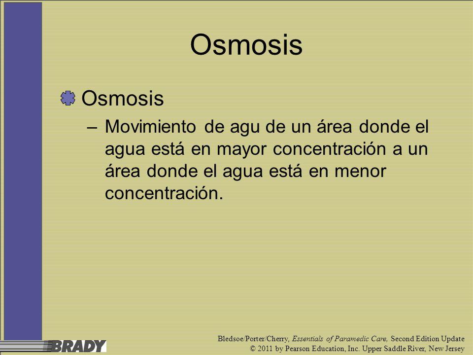 OsmosisOsmosis. Movimiento de agu de un área donde el agua está en mayor concentración a un área donde el agua está en menor concentración.
