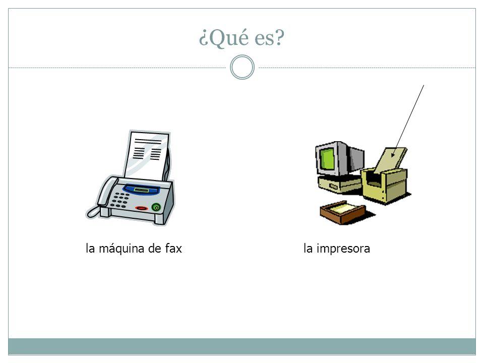 ¿Qué es la máquina de fax la impresora