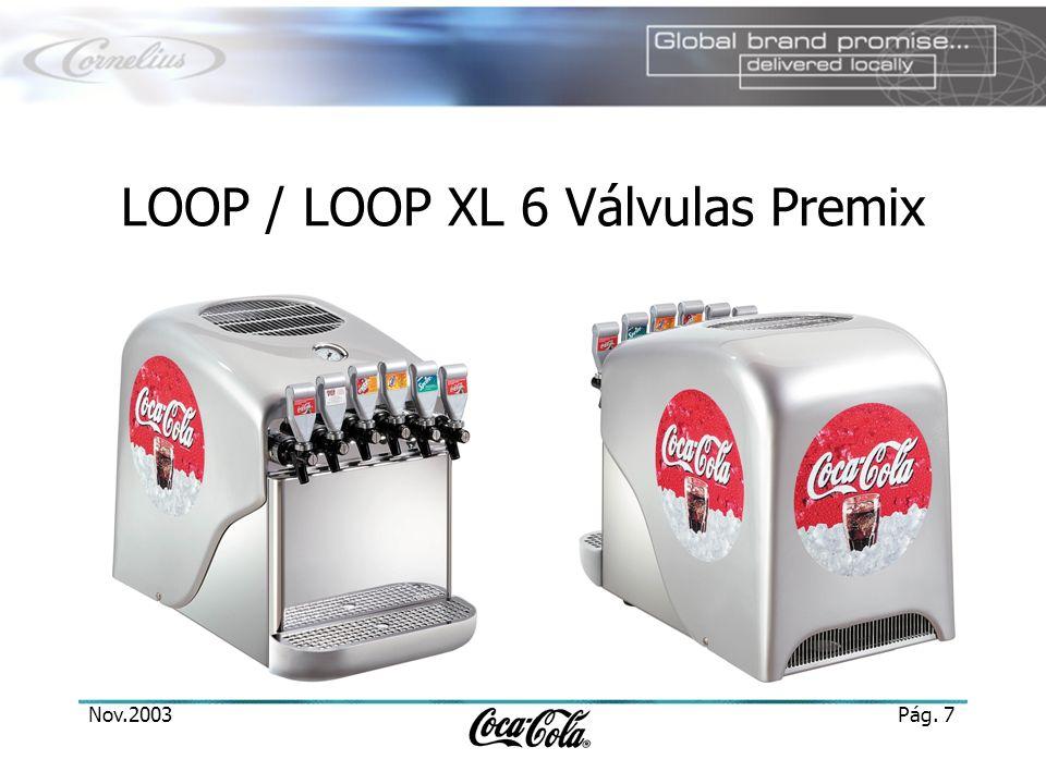 LOOP / LOOP XL 6 Válvulas Premix