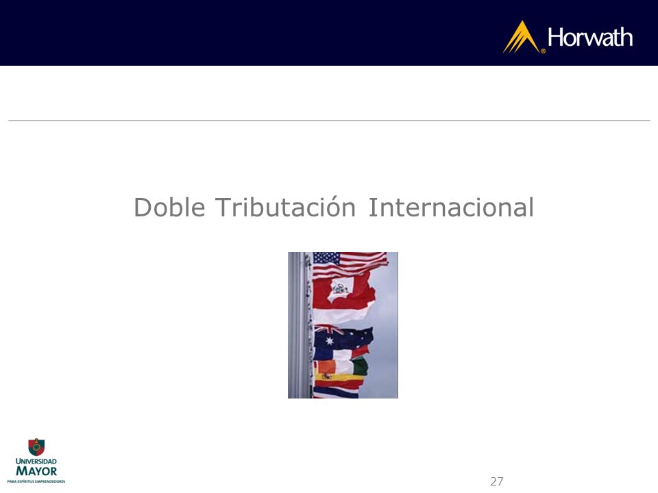 Doble Tributación Internacional