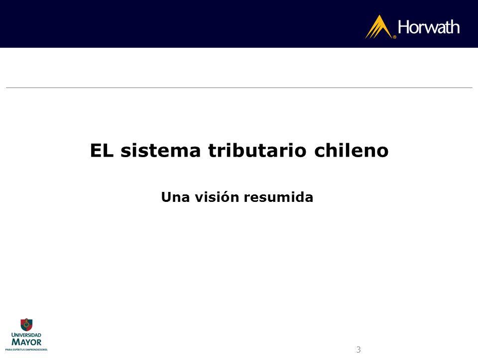 EL sistema tributario chileno