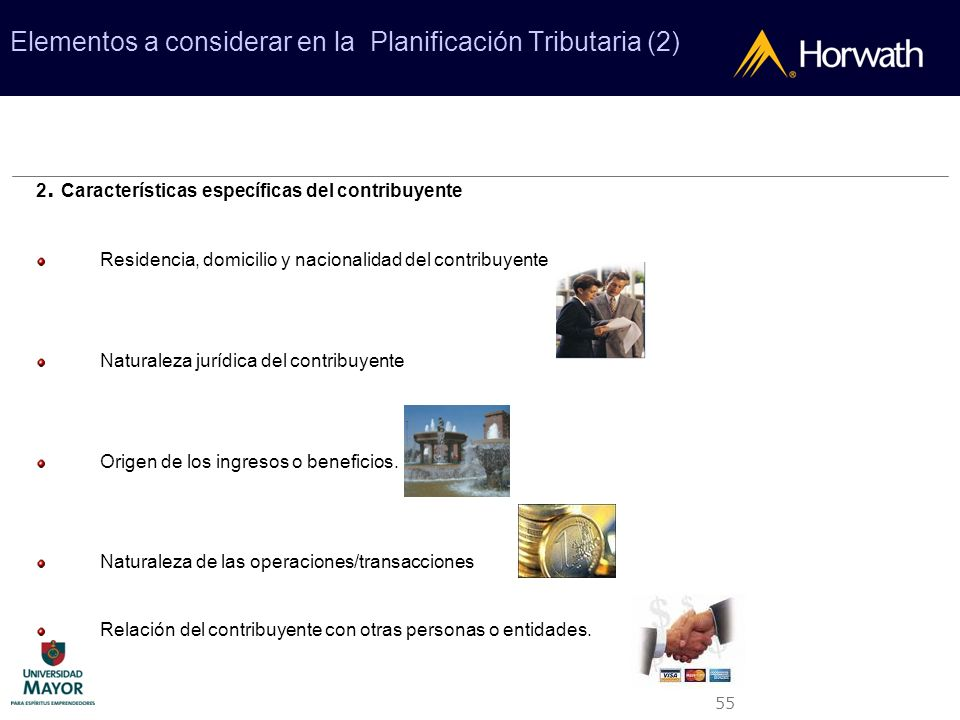 Elementos a considerar en la Planificación Tributaria (2)