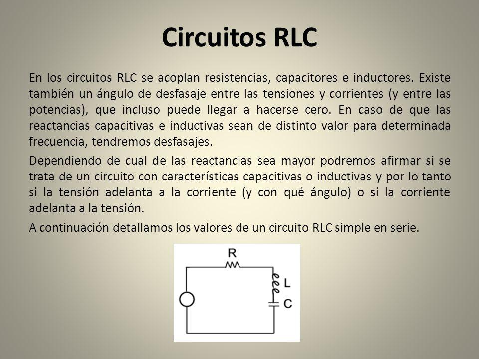 Circuito Rlc Serie : Circuitos rlc ing christian lezama cuellar ppt descargar