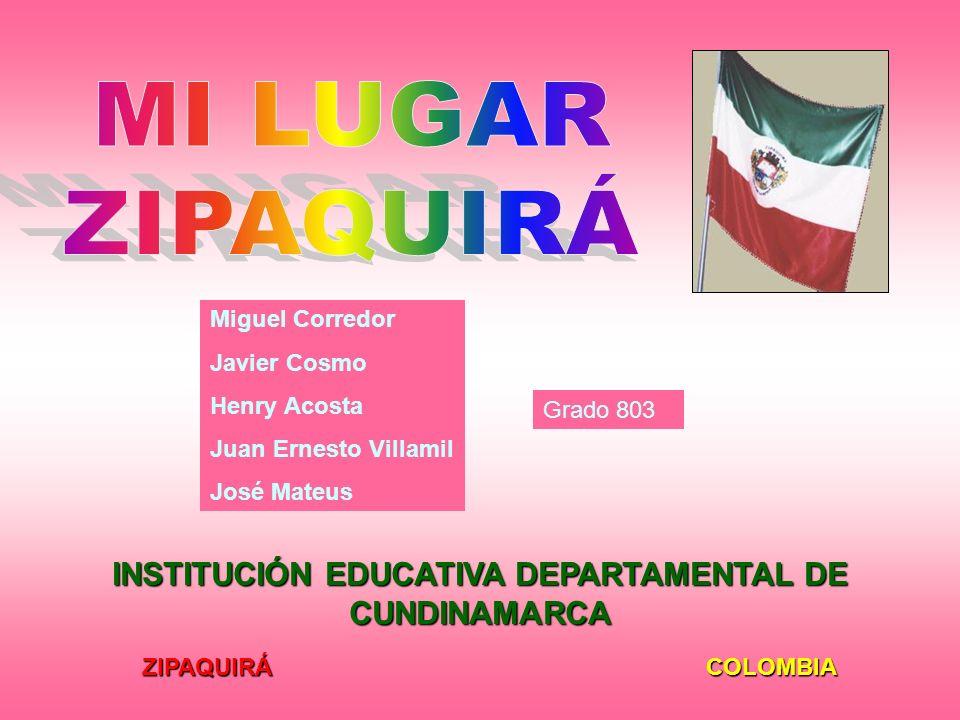 INSTITUCIÓN EDUCATIVA DEPARTAMENTAL DE CUNDINAMARCA