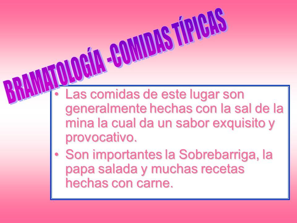 BRAMATOLOGÍA -COMIDAS TÍPICAS