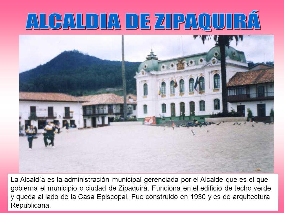 ALCALDIA DE ZIPAQUIRÁ