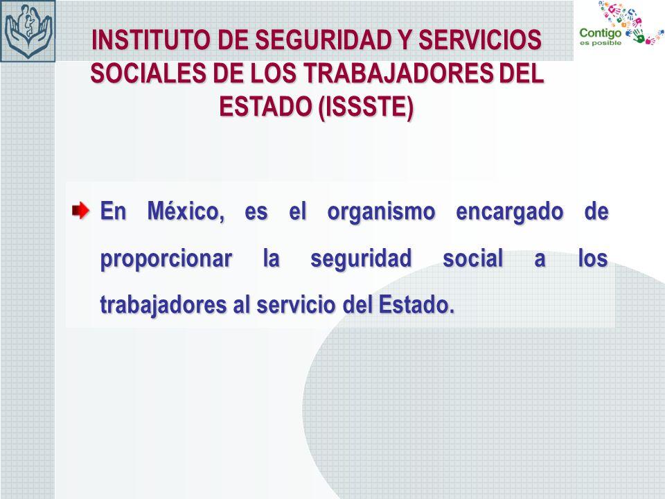INSTITUTO DE SEGURIDAD Y SERVICIOS SOCIALES DE LOS TRABAJADORES DEL ESTADO (ISSSTE)