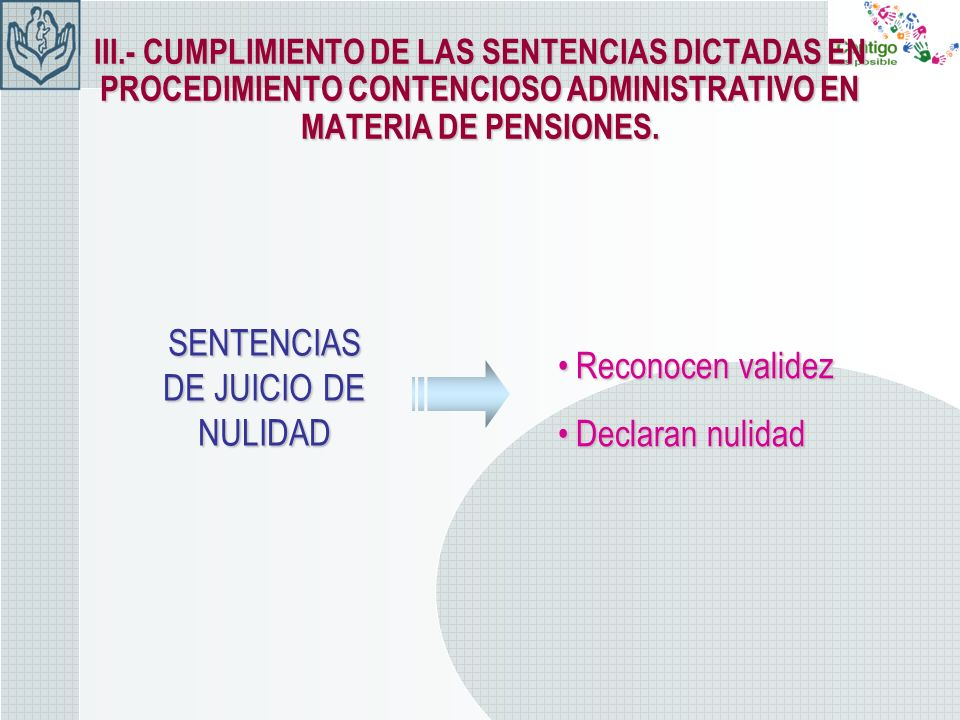 SENTENCIAS DE JUICIO DE NULIDAD