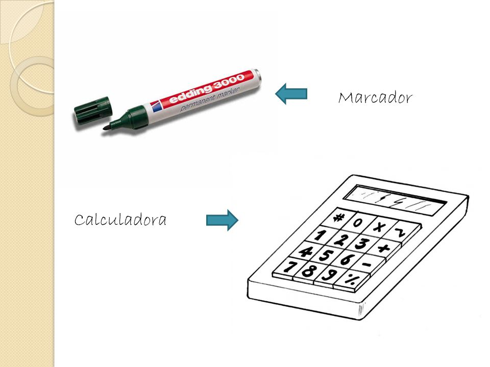Marcador Calculadora