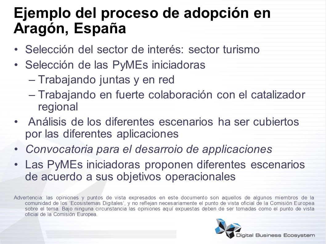 Ejemplo del proceso de adopción en Aragón, España