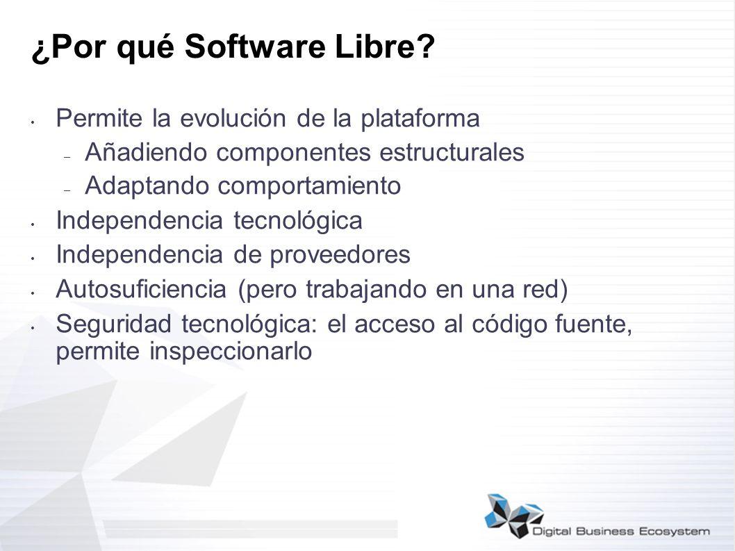 ¿Por qué Software Libre