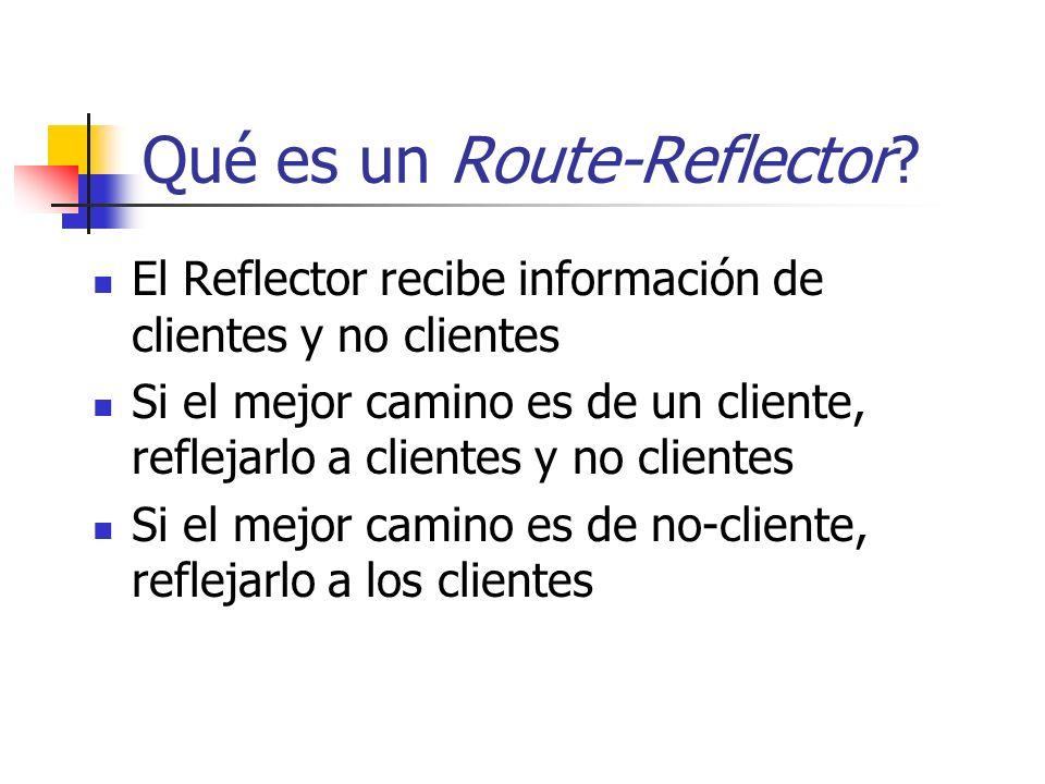 Qué es un Route-Reflector