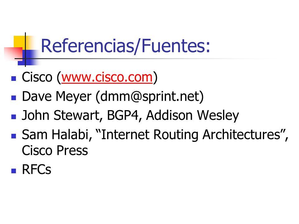 Referencias/Fuentes: