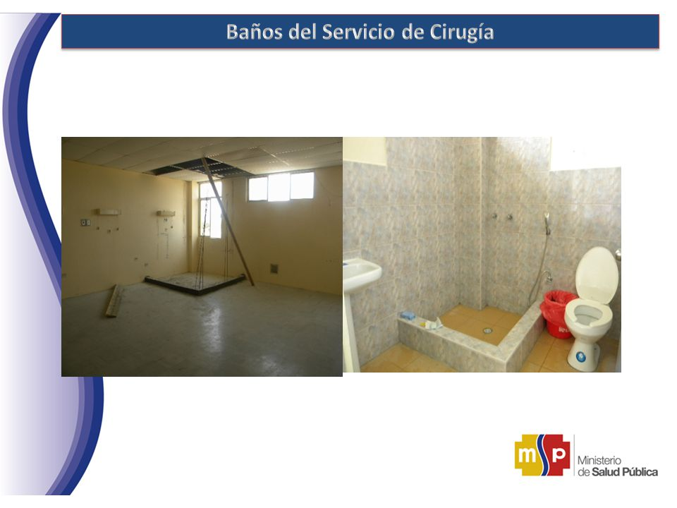 Hospital general de chone ppt descargar - Banos del hospital ...