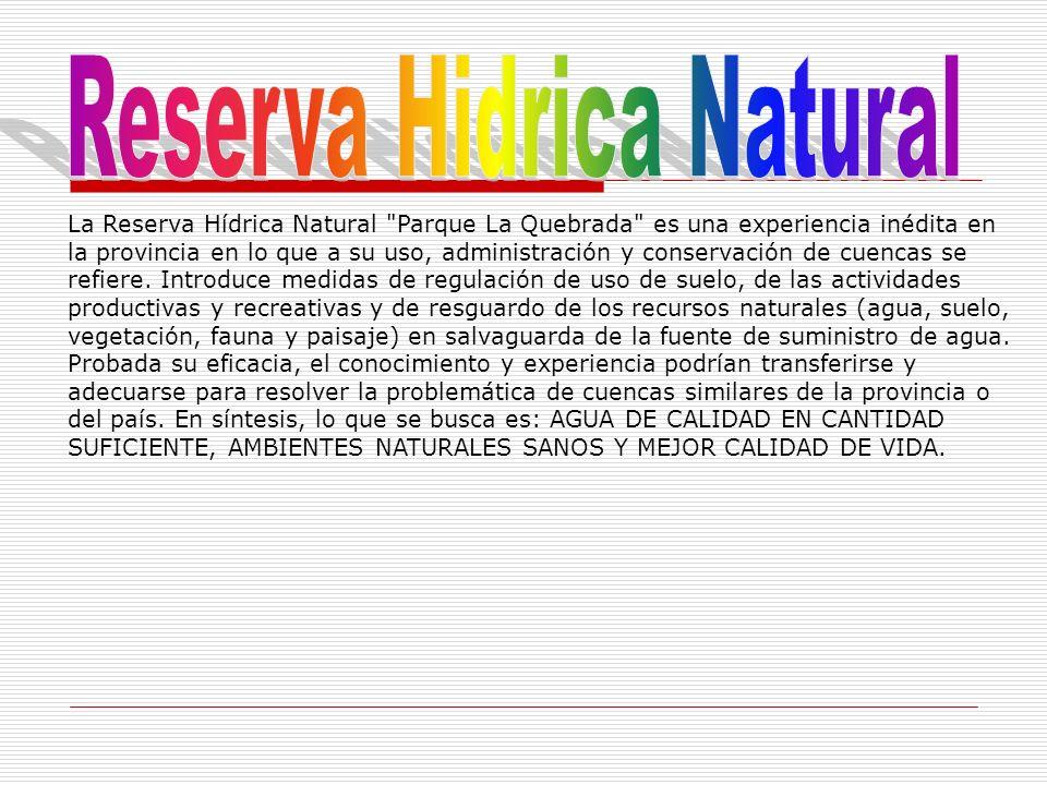 Reserva Hidrica Natural