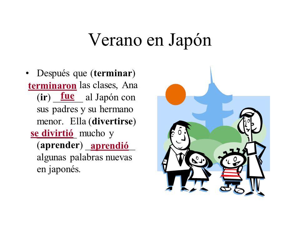 Verano en Japón