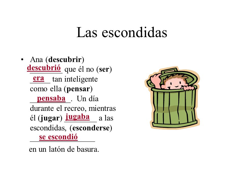 Las escondidas