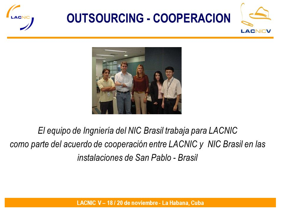 OUTSOURCING - COOPERACION