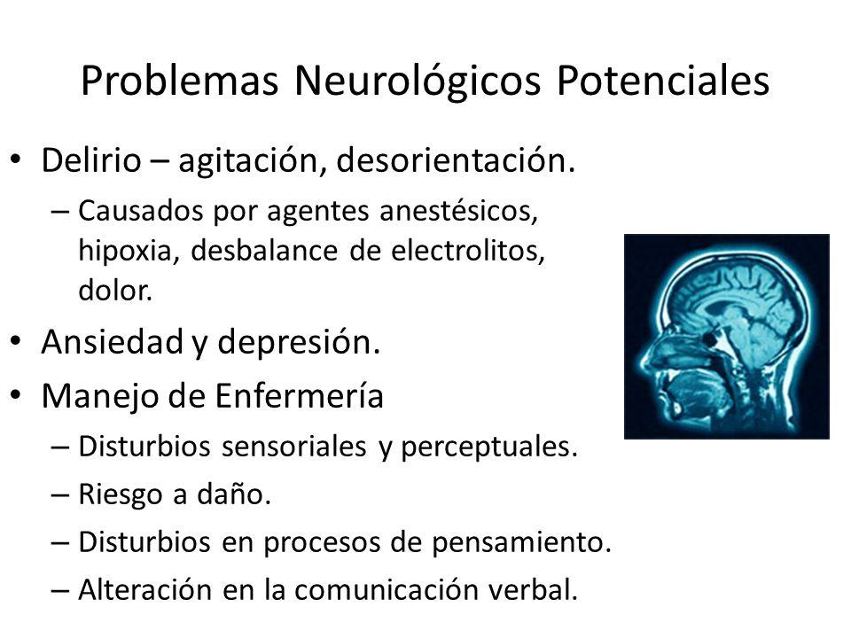 Problemas Neurológicos Potenciales