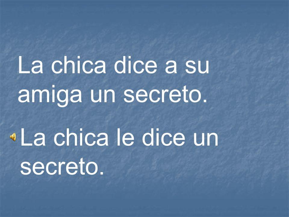 La chica dice a su amiga un secreto.