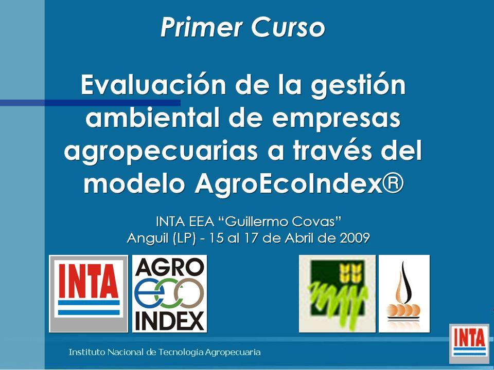 INTA EEA Guillermo Covas Anguil (LP) - 15 al 17 de Abril de 2009