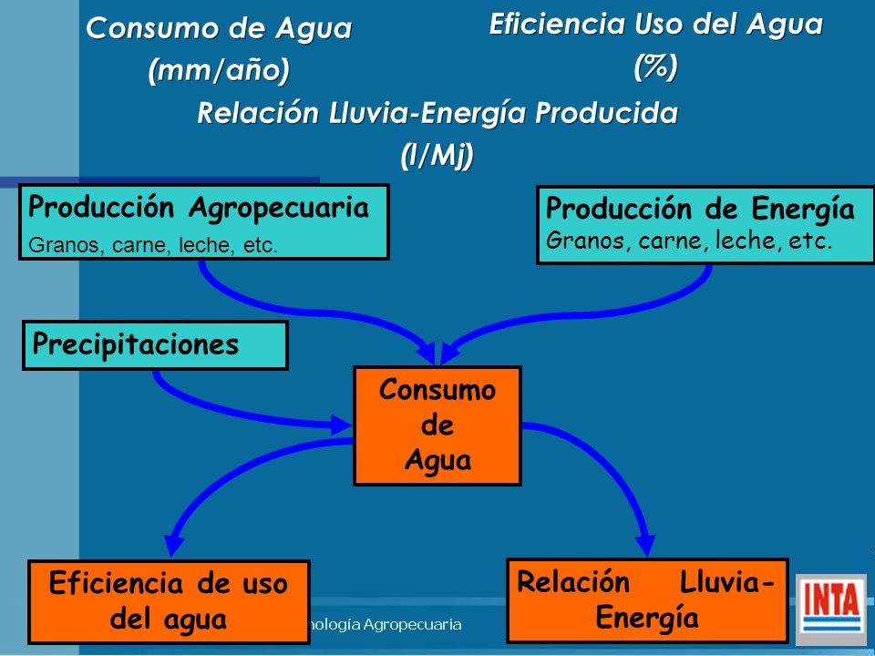 Eficiencia Uso del Agua (%)