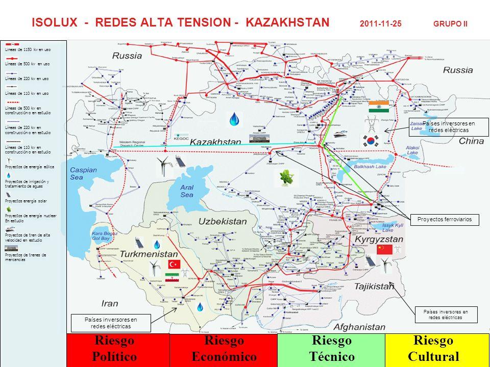 ISOLUX - REDES ALTA TENSION - KAZAKHSTAN 2011-11-25 GRUPO II