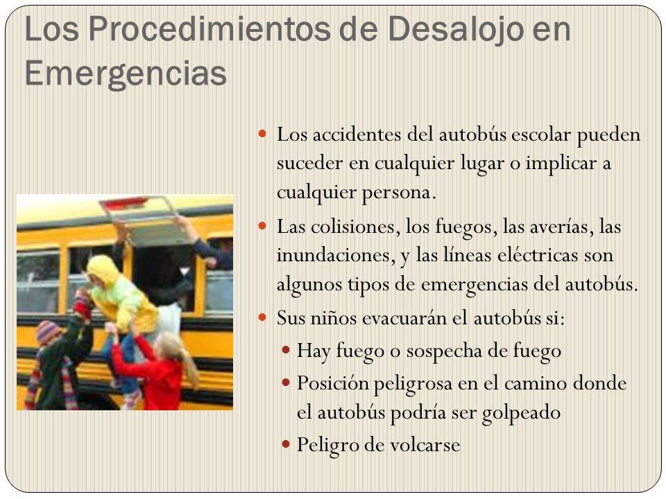 Los Procedimientos de Desalojo en Emergencias