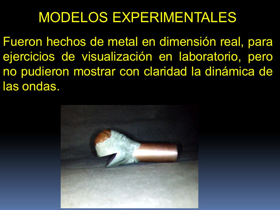 MODELOS EXPERIMENTALES