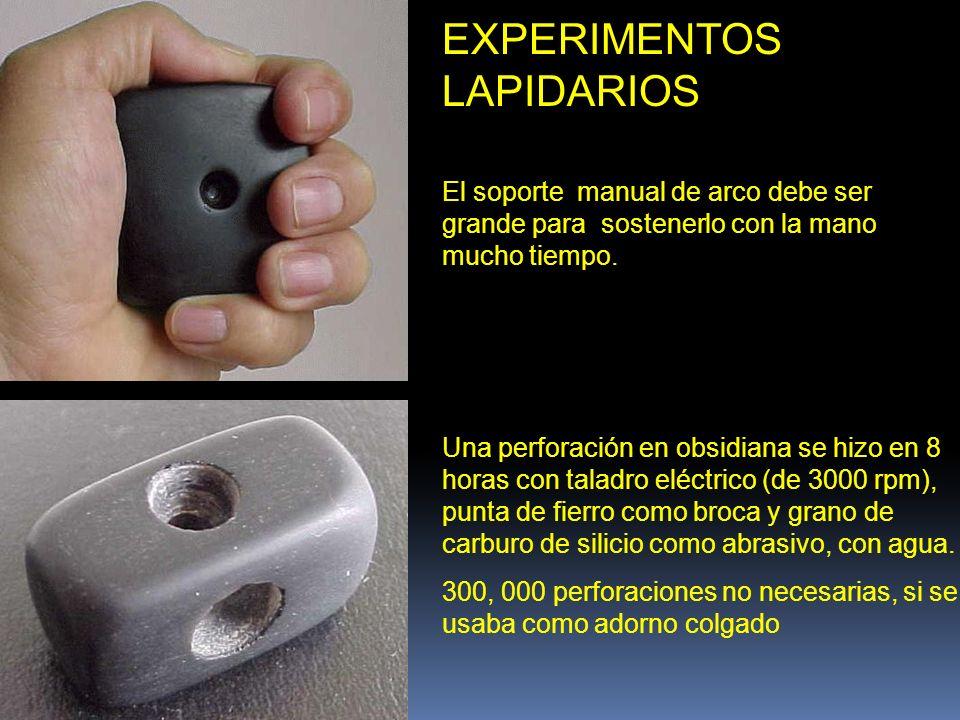 EXPERIMENTOS LAPIDARIOS
