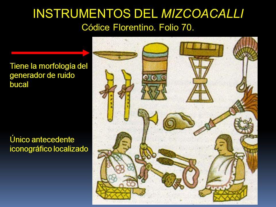 INSTRUMENTOS DEL MIZCOACALLI
