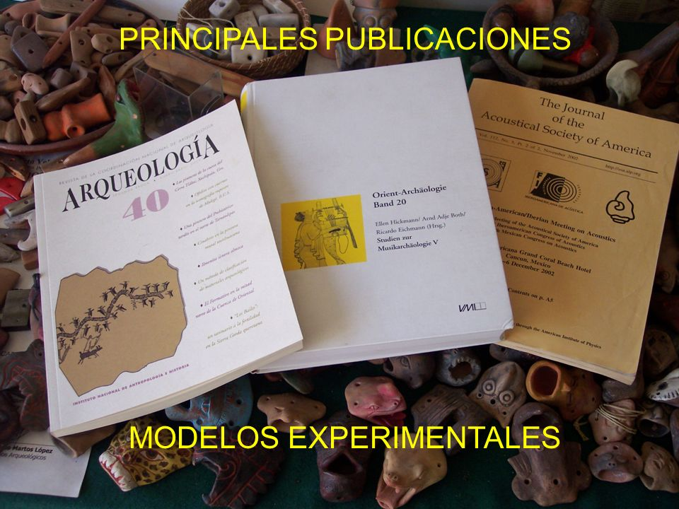 PRINCIPALES PUBLICACIONES