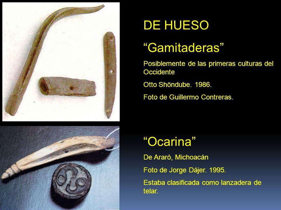 DE HUESO Gamitaderas Ocarina