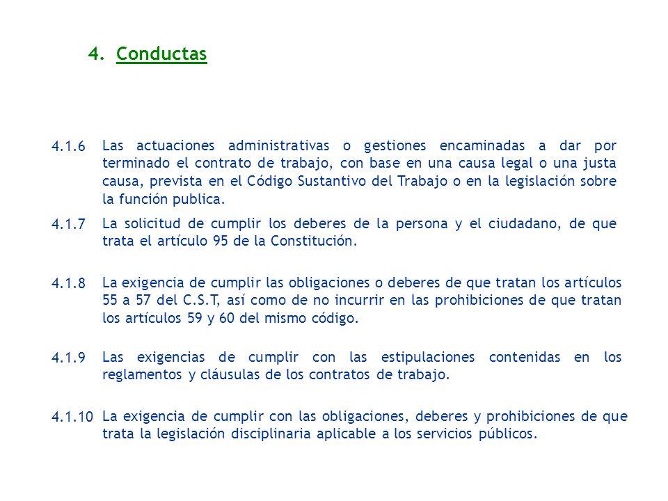 4. Conductas4.1.6.