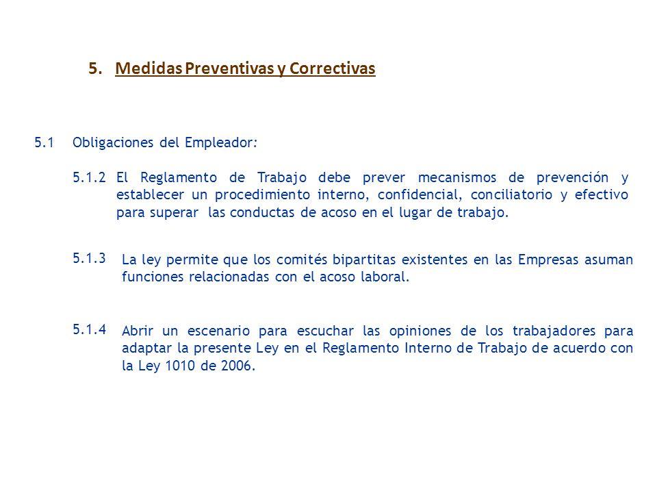 5. Medidas Preventivas y Correctivas