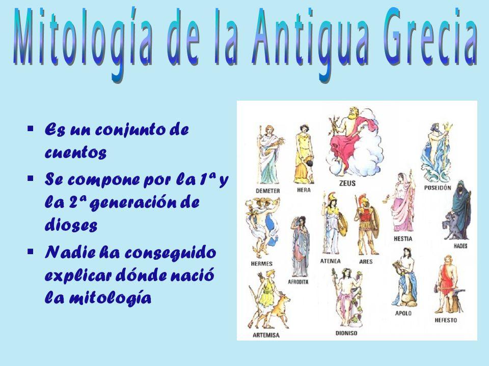 Mitología de la Antigua Grecia
