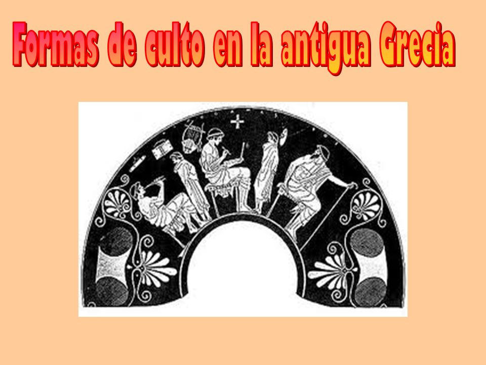 Formas de culto en la antigua Grecia