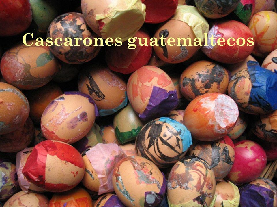 Cascarones guatemaltecos