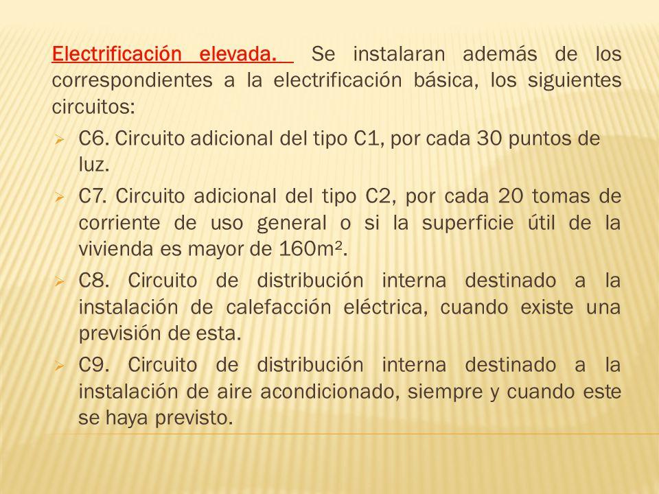 Electrificación elevada