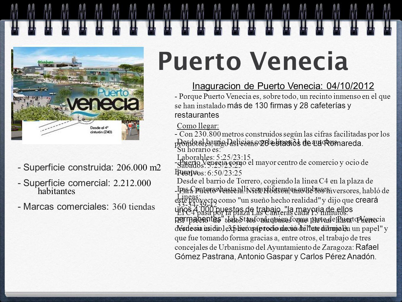 Proyecto de investigaci n ppt descargar - Puerto venecia horarios ...