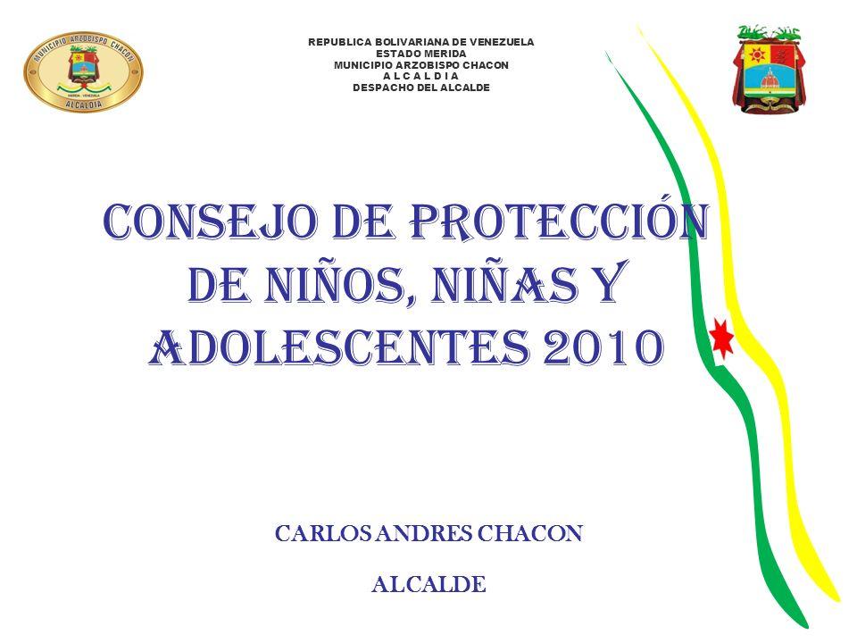 CONSEJO DE PROTECCIÓN DE NIÑOS, NIÑAS Y ADOLESCENTES 2010