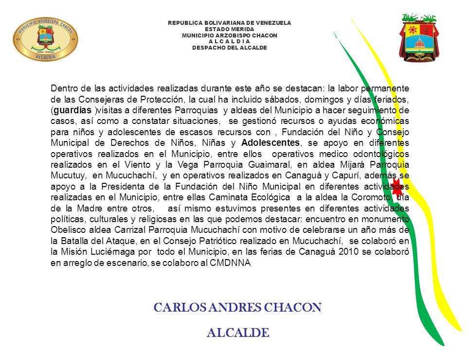 CARLOS ANDRES CHACON ALCALDE