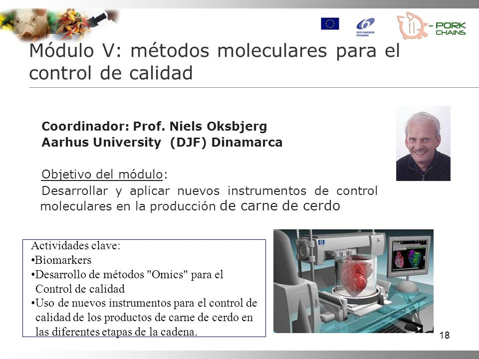 Módulo V: métodos moleculares para el control de calidad