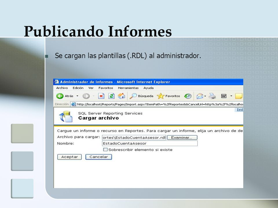SQL SERVER Reporting Services - ppt descargar